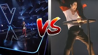 Download BOGDAN IOAN VS MICHAEL JACKSON | VOCEA ROMANIEI | VOICE COMPARISON | THE VOICE OF ROMANIA Video