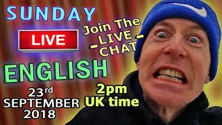 Download Learn English Live - 23rd September 2018 - Uses of Cut / Watch / Listen/ Learn with Dunc & Steve Video