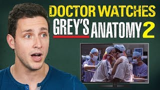 Download Real Doctor Reacts to GREY'S ANATOMY #2 | ″Into You Like A Train″ Video