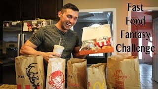 Download Fast Food Fantasy Challenge - 8,000 Calorie Cheat Day Video