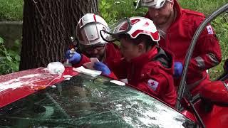 Download Unfall zwischen Pkw und Lkw bei Mäder Video