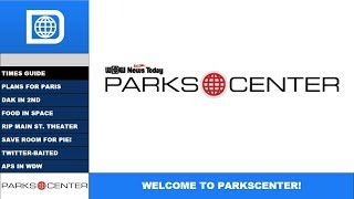 Download ParksCenter S1E8 - Paris Plans, Animal Kingdom Attendance, and Food In Space Video