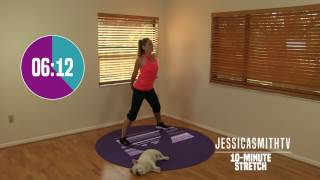 Download 10 Minute Total Body Stretch - At Home Stretching, No Equipment, All Levels, Flexibility Video