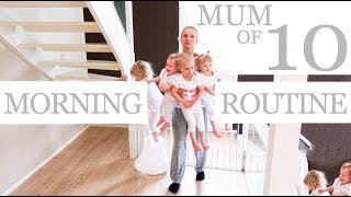 Download NEW MORNING ROUTINE with 10 CHILDREN Video