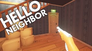 Download Hello Neighbour - Secret Gun Ending and Burning Bear? - Let's Play Hello Neighbor Gameplay Video