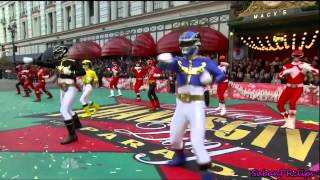 Download Thanksgiving Macy's Day Parade 2012 - Power Rangers MegaForce Video