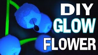 Download DIY Glow in the Dark Flowers Mary and The Witch's Flower How To Polymer Clay Tutorial epoxy resin Video