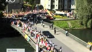 Download 1/2 Le Pape à Lourdes, ce que vous n'avez pas vu. Video