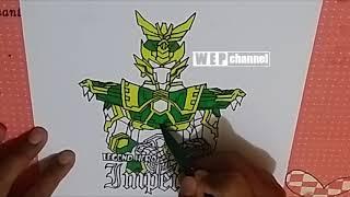 Download Menggambar dan Mewarnai Legend Hero Imperial dengan Spidol SNOWMAN dan BOARDMAKER Video