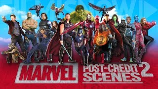 Download All The Marvel Cinematic Post-Credits Scenes Compilation (2008-2018) Vol.2 Video