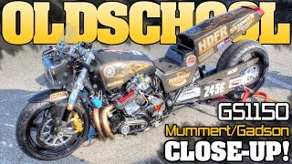 Download 6 second nitrous 1980 Suzuki Gs1150 pro street bike close-up 2015 Video