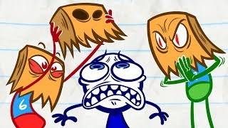 Download Pencilmate Gets IGNORED?! | Animated Cartoons Characters | Animated Short Films Video