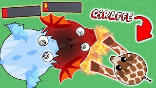 Download MOPE.IO NEW ANIMAL GIRAFFE DESTROYING ALL ANIMALS! UPCOMING ANIMAL UPDATE! (Mope.io Funny Moments) Video