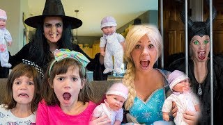Download Elsa, Maleficent, Wicked Witch, Kate & Lilly: Baby Doll Collection!! Video