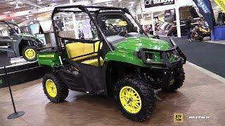 Download 2018 John Deere Gator XUV 590 M Utility ATV - Walkaround - 2017 Toronto ATV Show Video