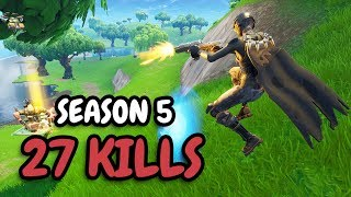 Download 27 KILLS in Season 5! | Solo vs Squad Video
