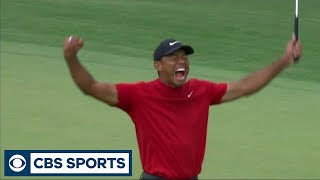 Download Tiger Woods wins the 2019 Masters | Golf | CBS Sports Video