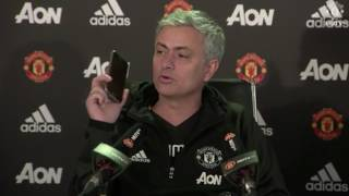 Download FUNNY: Jose Mourinho Answers Phone To talkSPORT At Press Conference Video