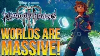 Download Kingdom Hearts 3 - WORLDS ARE MASSIVE! How Big is This Game?! Video