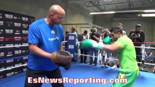 Download Amir Khan: When I Sparred Manny Pacquiao It Was War after War EsNews Boxing Video