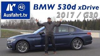 Download 2017 BMW 530d xDrive Limousine (G30) - Fahrbericht der Probefahrt, Test, Review, Testbericht Video