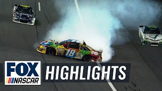 Download Kyle Busch and Joey Logano Wreck Out - All-Star Race - 2014 NASCAR Sprint Cup Video
