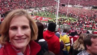 Download OSU BEATS Michigan 5.79 on Richter Scale! 110,045 Fans Rush The Field OSUMB 11 26 2016 OSU vs MI Video