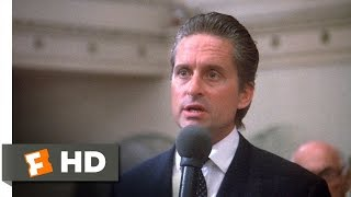 Download Wall Street (4/5) Movie CLIP - Greed Is Good (1987) HD Video
