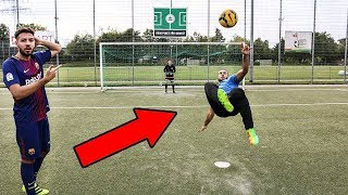 Download Meine HEFTIGSTE FUSSBALL CHALLENGE vs CUBANITO 😍⚽ - Wakez Video