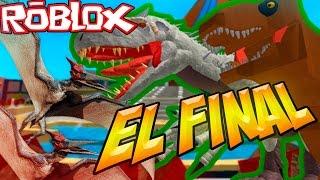 Download Escapamos de Rexy y de los Pteranodones EPISODIO FINAL - Roblox Jurassic world Video