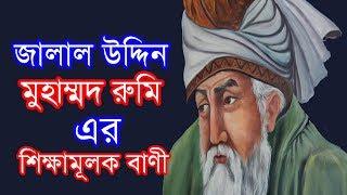 Download জালাল উদ্দিন মুহাম্মদ রুমি এর শিক্ষামূলক বাণী । Motivational Life Changing Quotes Rumi Video