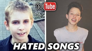 Download TOP 5 Most HATED YouTuber Songs ( Jacob Sartorius, Misha Silenosti ) Video