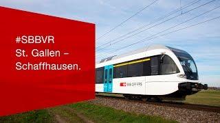 Download #SBBVR - St. Gallen – Schaffhausen. Video