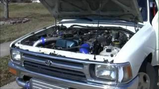 Download 2jz-gte VVTI swap in 93 Toyota Pick Up (Kilwy) Video