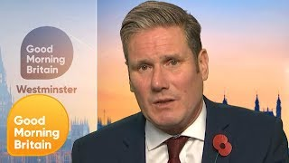 Download Keir Starmer Quizzed on Labour's Policies if Successful in General Election   Good Morning Britain Video