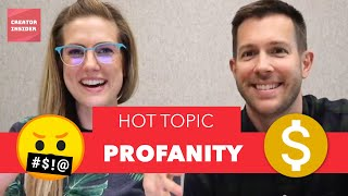 Download What THE &$!#%!!! 🤬Profanity in YOUR YouTube videos and how it affects the MONETIZATION icon 🤑 Video
