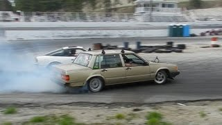 Download DRIFTING 3RD GEAR IN A TURBO VOLVO Video