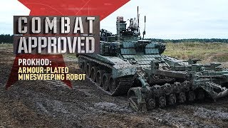 Download Prokhod: Armour-plated Minesweeping Robot. Remote bomb-neutralizing & movement in automatic mode Video