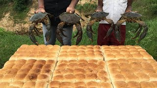 Download Mouth Watering pav bhajis - Big Crab Pav Bhaji - Crab Pav Bhaji Video