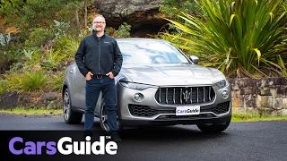 Download Maserati Levante 2017 review | first Australian drive video Video
