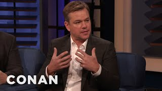 Download Why Matt Damon Signs So Many Autographs - CONAN on TBS Video