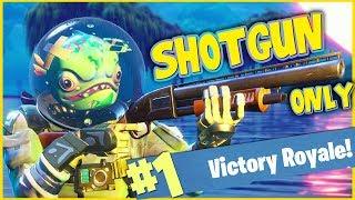 Download SHOTGUN ONLY CHALLENGE!! - FORTNITE BATTLE ROYALE!! Video