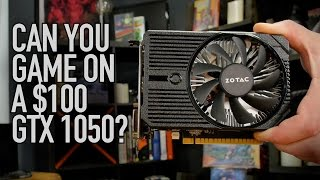 Download Can You Game On A $100 Zotac GTX 1050? Video