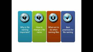 Download Part 4: Best Practices for File Naming Video