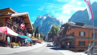 Download Grindelwald, Switzerland by car on 30.07.2016 Video