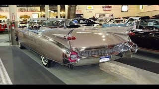 Download 1959 Cadillac Caddy Eldorado Biarritz Convertible & Great Tail Fins My Car Story with Lou Costabile Video