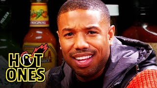 Download Michael B. Jordan Gets Knocked Out By Spicy Wings | Hot Ones Video