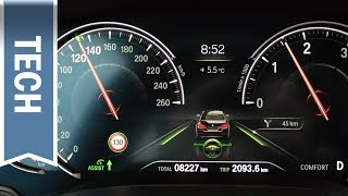 Download Digitaler Tacho im 5er BMW 2018 im Detail (Multifunktionales Instrumentendisplay) Review Video