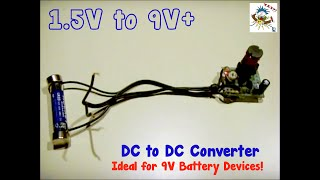 Download DC to DC Converter(1.5V up to 9V+) Video