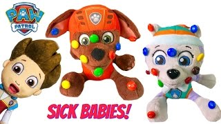 Download Best Learning Colors Video for Children - Paw Patrol Zuma Everest M&M's Sickness Video